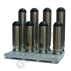 Sada nožek pro potrubní laser pro potrubí o průměru 250 a 300mm