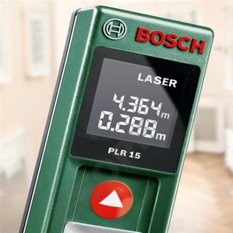 Laserový metr Bosch PLR 15