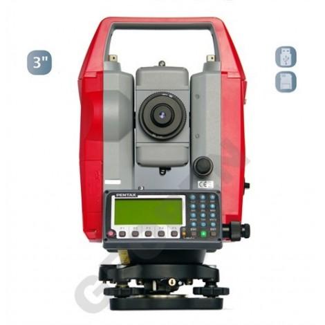 Totální stanice PENTAX R-1503N s SD kartou a USB rozhraním