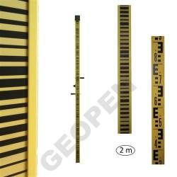 Invarová nivelační lať s čárovým kódem 2 m