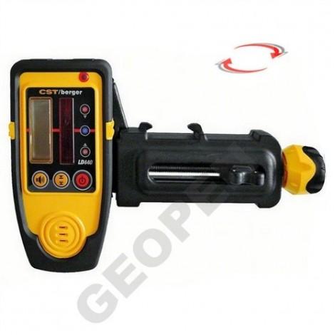 Laserový přijímač LD 440 + držák na lať