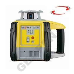 Nivelační laser Geomax Zone 20H se stativem a laserovou latí