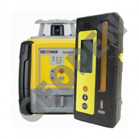 Rotační nivelační laser Zone 20H a příjímač ZRB90