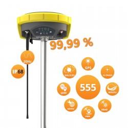 GNSS přijímač Zenith40 s 555 kanály a UHF