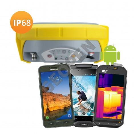 GNSS přijímač Geomax Zenith15 a vlastní telefon/tablet