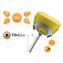 RTK sestava Geomax Zenith35 TAG Pro se sklony