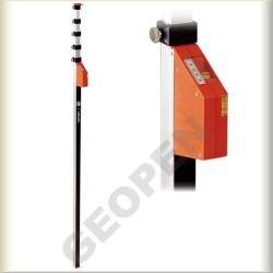 Měřící teleskopická lať 8m mEssfix-S
