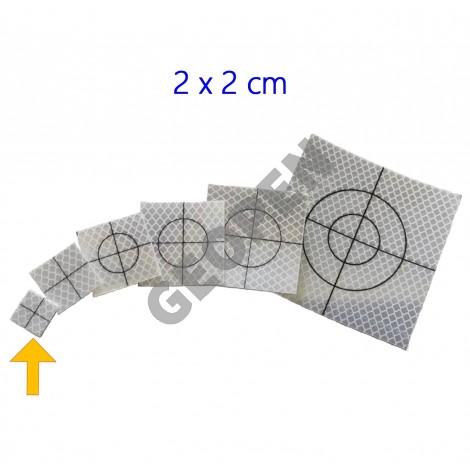 Odrazný štítek pro měření totální stanicí