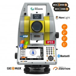 GEOMAX Zoom75 automatizovaná totální stanice se servomotory