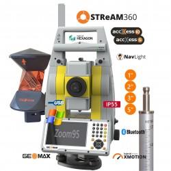 Plný robotický systém GEOMAX Zoom95 Active