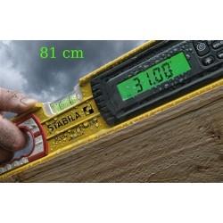 Vodní váha s elektronickým sklonoměrem STABILA - 80 cm