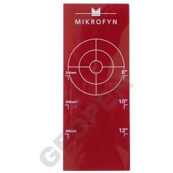 Terč pro potrubní laser pro průměry 200 - 300mm