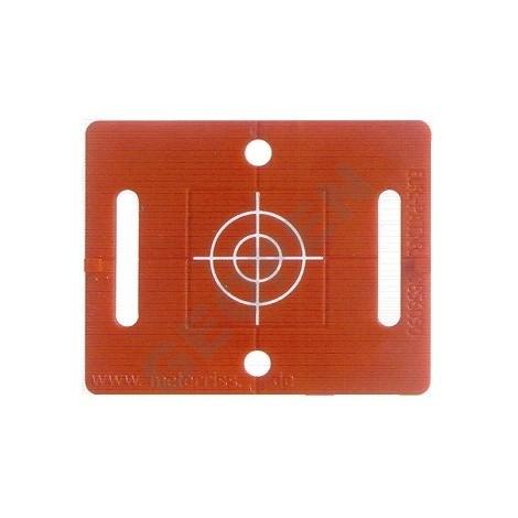 Nalepovací polohová značka červená se záměrným křížem