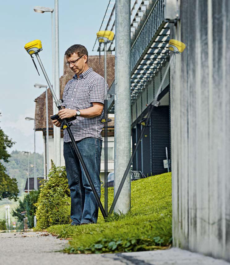 Geodetické měření s GNSS (GPS) přijímačem